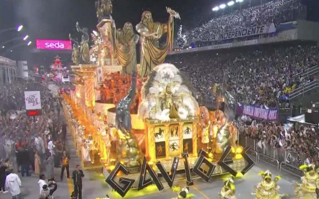 gaviões da fiel carnaval globo rpc